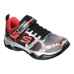 Boys' Skechers Neutron Subatomic Sneaker Black/Red