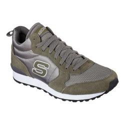 Men's Skechers Retros OG 85 Mid High Top Olive/Gray