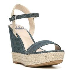 Women's Fergalicious Vortex Sandal Denim Fabric