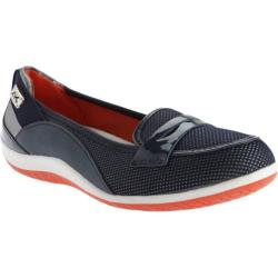 Women's Anne Klein Welcome Slip-on Navy/Silver Multi Fabric
