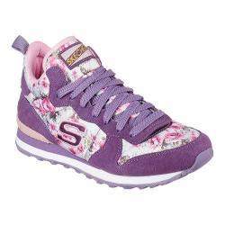 Women's Skechers Retros OG 85 Hollywood Rose High Top Purple/Pink