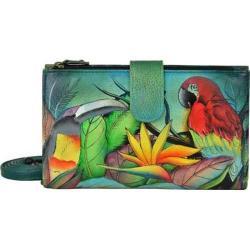 Women's Anuschka Large Smart Phone Case & Wallet Tropical Bliss