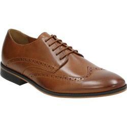 Men's Bostonian Gellar Wing Tip Tan Leather