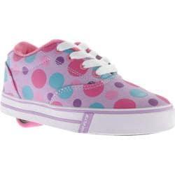 Children's Heelys Launch Lilac/Multi Polka Dots