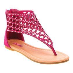 Girls' Josmo O-32073 Thong Sandal Fuchsia