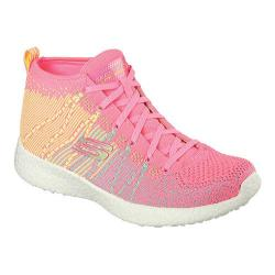 Women's Skechers Burst Sweet Symphony High Top Hot Pink/Multi