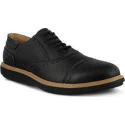 Men's Spring Step Bryan Oxford Black Leather