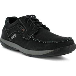 Men's Spring Step Duncan Lace Up Shoe Black Nubuck
