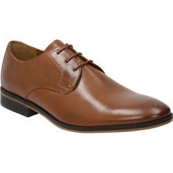 Men's Bostonian Gellar Plain Toe Derby Tan Leather