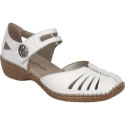 Women's Remonte Doris 33 Mary Jane White Leather