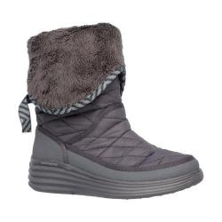 Women's Skechers Halo Ring Mid Calf Boot Charcoal