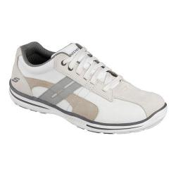 Men's Skechers Relaxed Fit Elected Gavino Bicycle Toe Shoe White