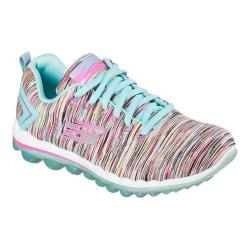 Women's Skechers Skech-Air 2.0 Lace Up Cyclones/Turquoise/Multi