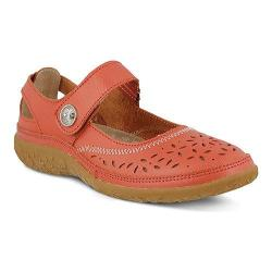 Women's Spring Step Naturate Mary Jane Coral Leather