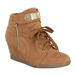 Girls' Wild Diva Peggy-53K Ankle Boot Tan Faux Suede