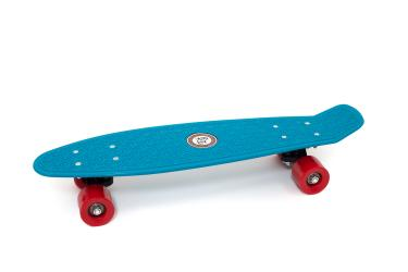 "Skateboard Penny Retro 22"" Standard Board Mini Street Cruiser Complete, Blue"