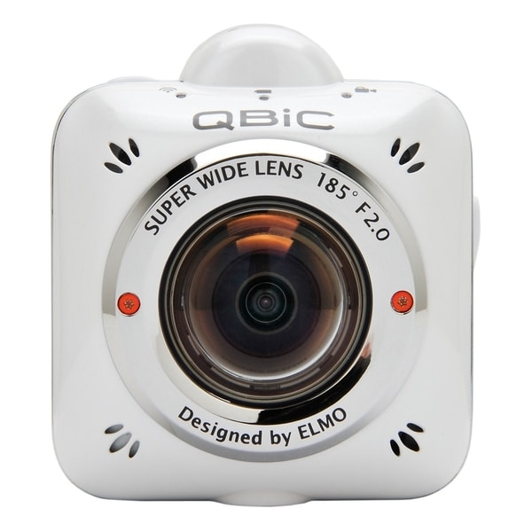 Elmo QBiC MS-1 Digital Camcorder - Full HD - White