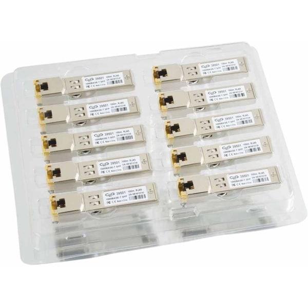Cisco GLC-T Compatible 1000Base-T Copper SFP (mini-GBIC) Transceiver