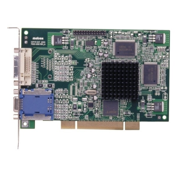Matrox G450 Graphic Card - 32 MB DDR SDRAM - PCI