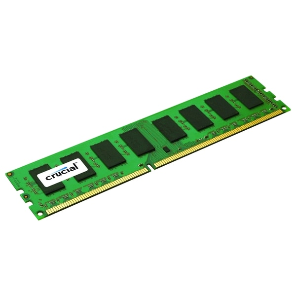 Crucial 8GB, 240-Pin DIMM, DDR3 PC3-12800 Memory Module