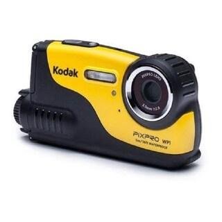 "Kodak PIXPRO WP1 Digital Camcorder - 2.7"" LCD - CCD - HD - Yellow"