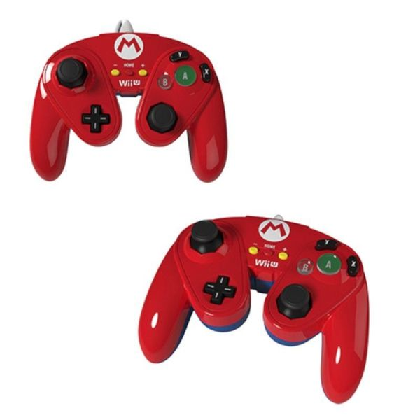 Mario Wired Fight Pad Controller for Wii U