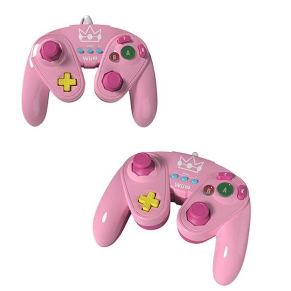 'Princess Peach' Wired Fight Pad for Wii U