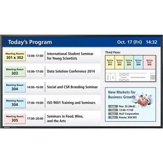Sharp Professional PN-Y555 Digital Signage Display