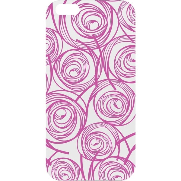OTM iPhone 6 White Glossy Case New Age Collection, Swirls
