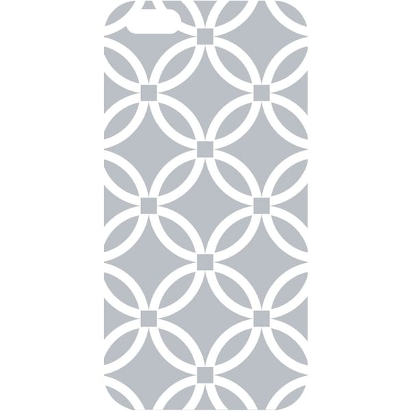 OTM iPhone 6 White Glossy Case Elm Collection, Grey