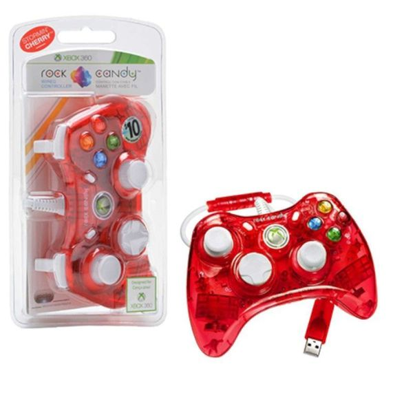 Rock Candy 'Blueberry Boom' Wired Controller for Xbox 360