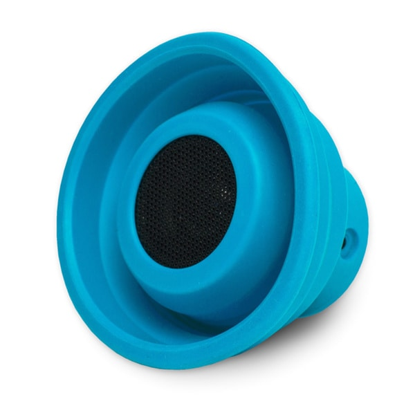 X-Horn Blue Collapsible Portable Bluetooth Speaker