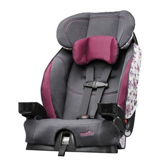 Evenflo Coral Floral Chase Select Booster Car Seat