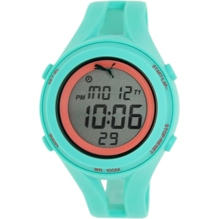 Puma Men's Air PU911171005 Green Resin Quartz Watch