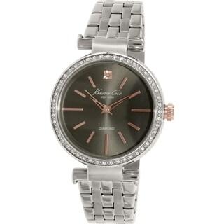 Kenneth Cole Women's KC0038 Silver Stainless-Steel Quartz Watch