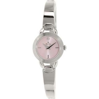 Bulova Women's 96P138 Silver Stainless-Steel Quartz Watch