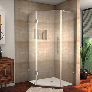 Aston Neoscape 34-inch x 34-inch 72-inch Frameless Neo-Angle Shower Enclosure