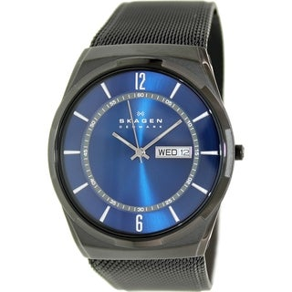 Skagen Men's Melbye SKW6088 Black Stainless Steel Quartz Watch