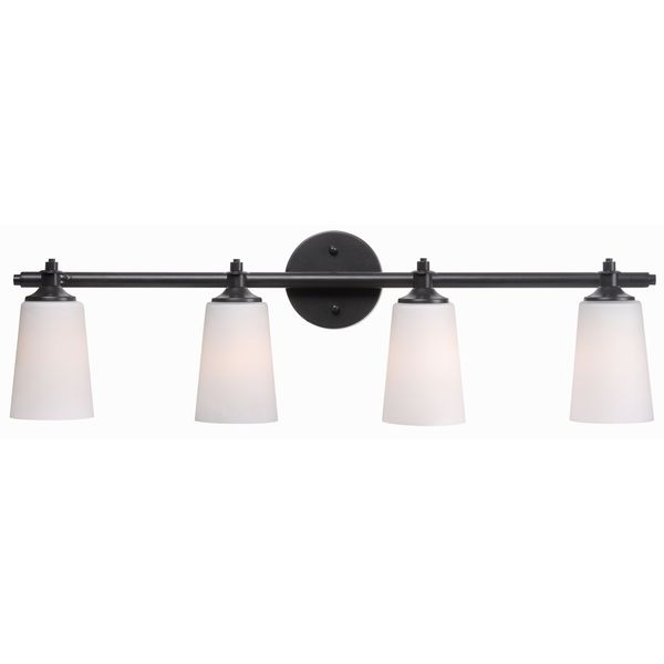 Czar 4-light Bronze Vanity