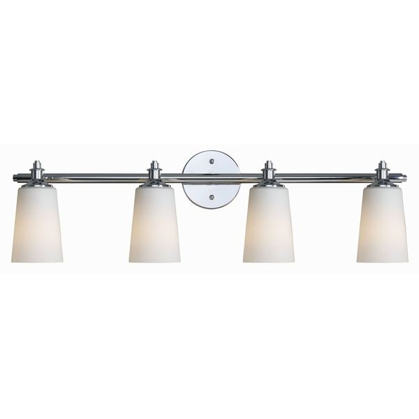 Czar 4-light Chrome Vanity
