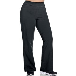 Champion Women's Plus-size Cotton Semi-Fitted Boot-Cut Pants