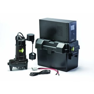 ECO-FLO E130V6 Heavy Duty Eco-One Water Pump Battery Back-up and Inverter