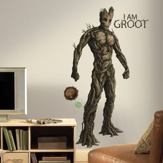 Roommates Guardians of the Galaxy Groot Peel and Stick Giant Wall Decal