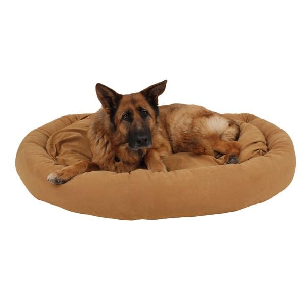 Carolina Pet Co. Microfiber Bagel Dog Bed
