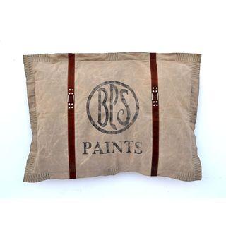 BPS Paints Grain Sack Throw Pillow