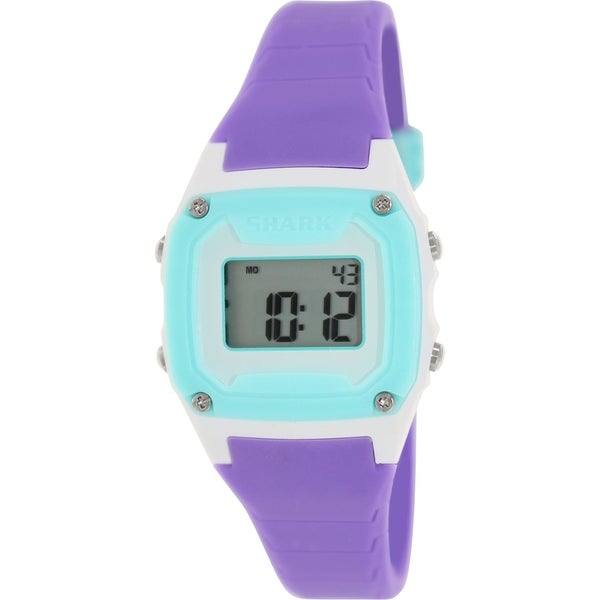 Freestyle Women's Shark Classic 102275 Purple Silicone Quartz Watch