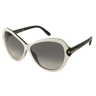 Tom Ford Women's TF0326 Valentina Oversize Sunglasses