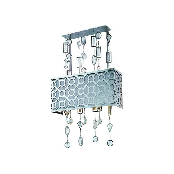 Symmetry Nickel 3-light Wall Sconce