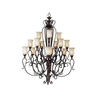 Sausalito Other 15-light Multi Tier Chandelier