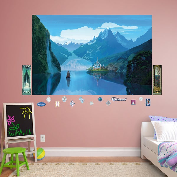 Fathead Frozen Arendelle Mural Wall Decals